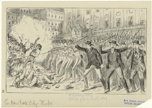 Astor Place Riot, 1849